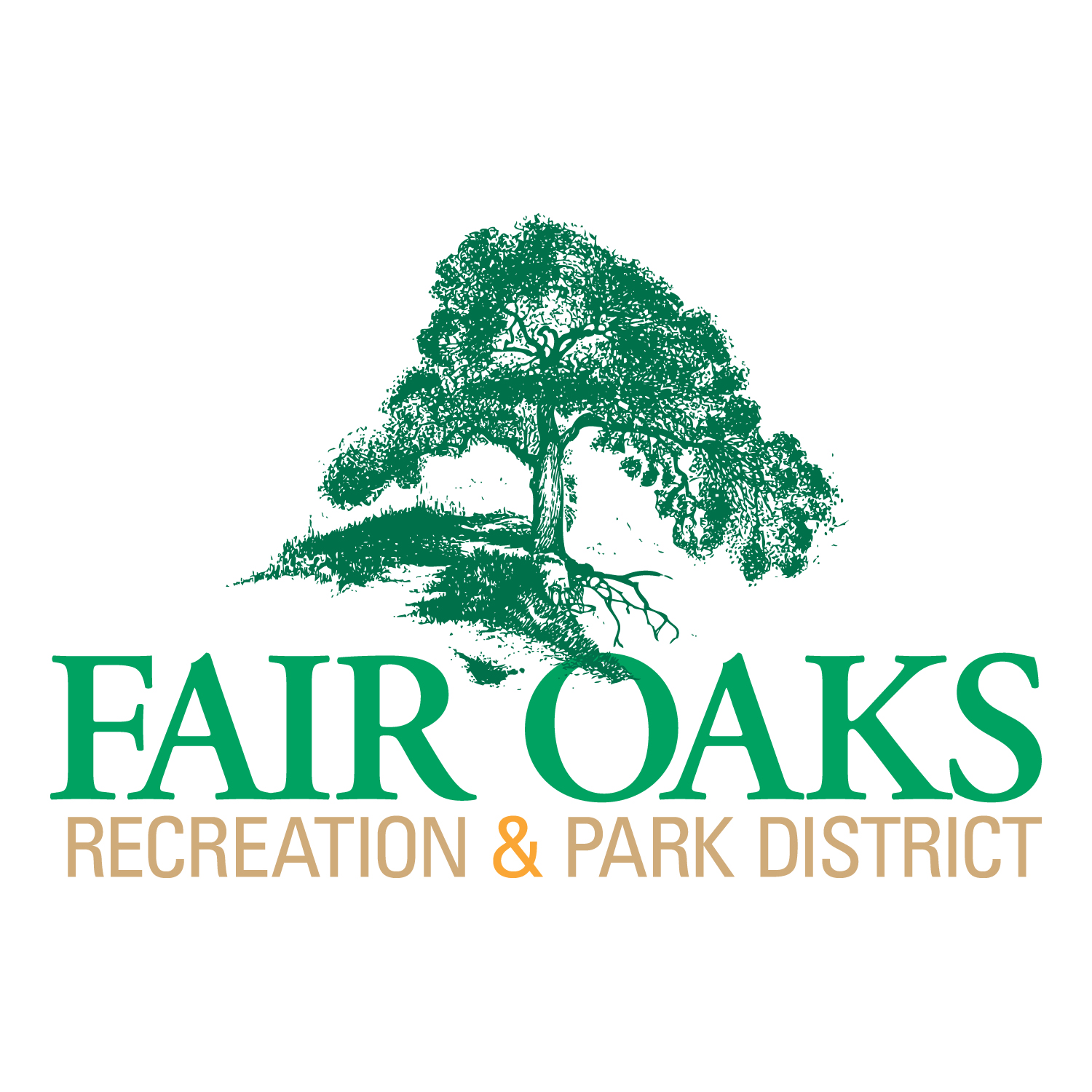Fair Oaks Logo stacked color