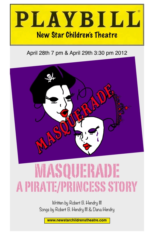 Masquerade Program Cover